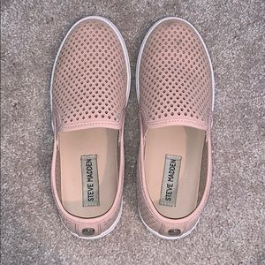 Pale pink Steve Madden shoes
